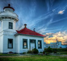 Mukilteo Lighthouse by Mari  Wirta