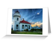 Mukilteo Lighthouse Greeting Card