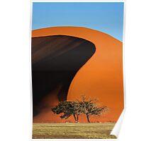 Curving Sands Poster