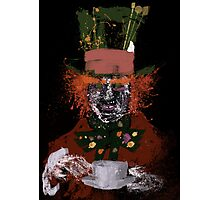 Hatter splatter Photographic Print