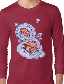 hermits and paisley Long Sleeve T-Shirt