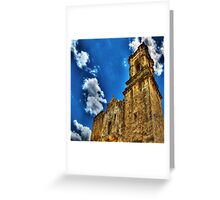 High Noon at the Bell Tower Greeting Card