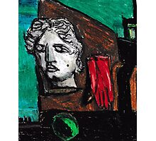 Song Of Love(After Giorgio De Chirico ) Photographic Print