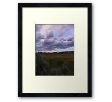 Sagebrush Country Framed Print