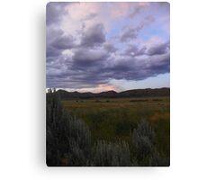 Sagebrush Country Canvas Print