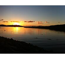 Sunset Over Arisaig Photographic Print