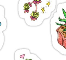 kawaii cacti Sticker