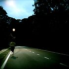 Jogging Alone After Dark by withsun