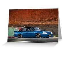 Nick Sassine's Holden VK Commodore Greeting Card