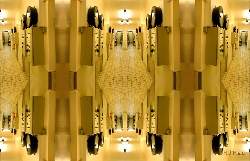 cpu interior by H J Field