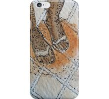 Rinsing toes iPhone Case/Skin
