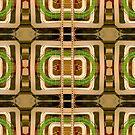 wire matrix collage by H J Field