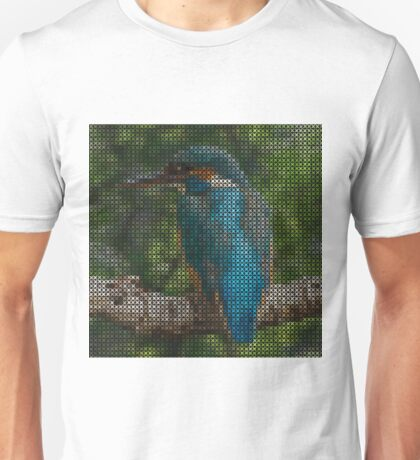 VINTAGE BIRD PILLOW -TOTE BAG- PICTURE ECT.. Unisex T-Shirt