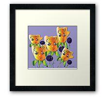 Little Girls Framed Print