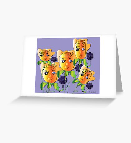 Little Girls Greeting Card