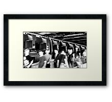 BERLIN - STATIONWALK Framed Print