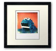 """Me want Polaroid!!! nom, nom, nom..."" Framed Print"