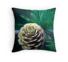 Pine Cone Throw Pillow