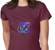 It's Not Just Hardcore - Spiral Vibe Womens Fitted T-Shirt