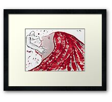 Greediness Framed Print