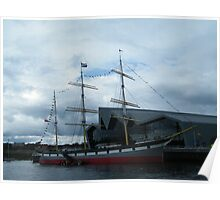 Tall Ship...The Glenlee Poster