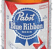 Pabst Blue Ribbon by locationgutter