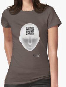 Still ~ QR Code Womens Fitted T-Shirt