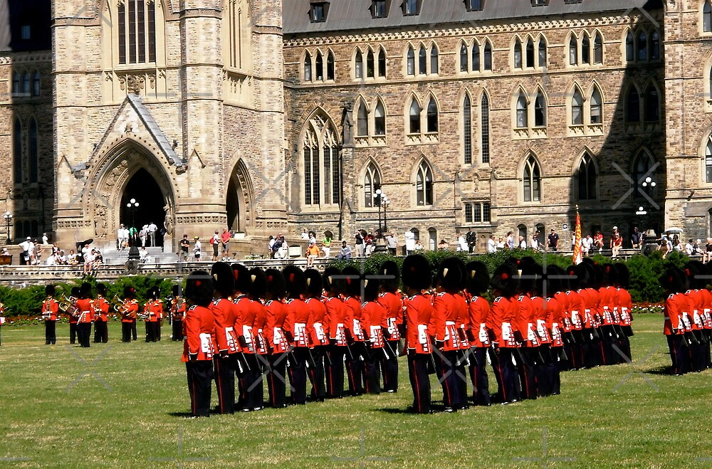 The Changing of the Guard, Ottawa, ON by Shulie1