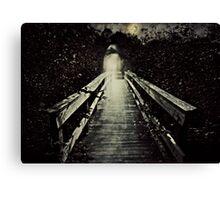 The Watcher on the Bridge Canvas Print