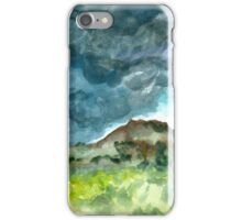 thunderstorm over knoll iPhone Case/Skin