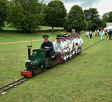 Train Full Of Morris Men by lynn carter
