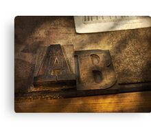 Graphic Artist - AB Canvas Print