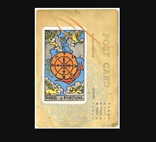 Wheel Of Fortune Blue Tarot Post Card Unisex T-Shirt
