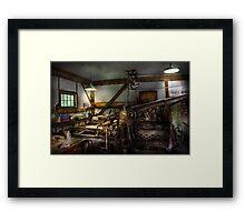 Graphic Artist - Master Press Framed Print