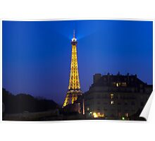 Eifel Tower in the Evening Poster