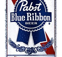 Pabst Blue Ribbon Can by locationgutter