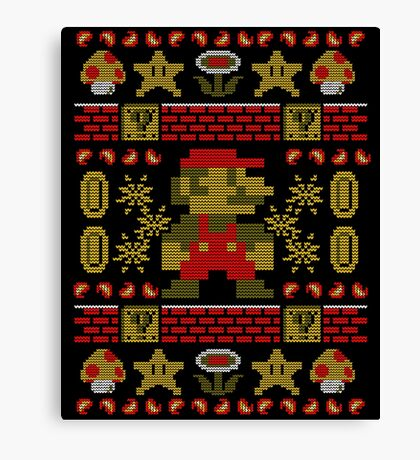 Super Ugly Sweater Canvas Print