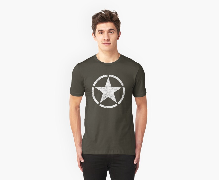 Vintage look US Army Star by Chuffy