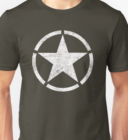 Vintage look US Army Star Unisex T-Shirt