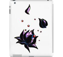 darkest lotus (no background) iPad Case/Skin