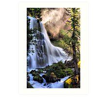 The Upper Falls of Falls Creek Falls Art Print