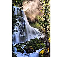 The Upper Falls of Falls Creek Falls Photographic Print