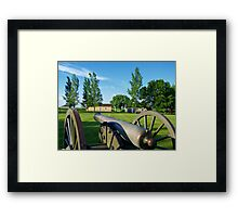 Prairie Outpost Framed Print