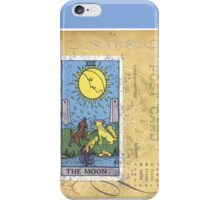 The Blue Moon Tarot Card Fortune Teller iPhone Case/Skin