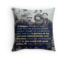 ..And I Thought Chemicals Were Bad...... Throw Pillow
