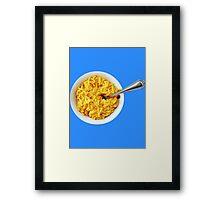 Mac & Cheese Framed Print