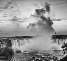 Niagara Falls Close  by Brad Walsh