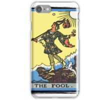 The Fool Tarot Card iPhone Case/Skin