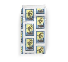 The Fool Tarot Card Duvet Cover