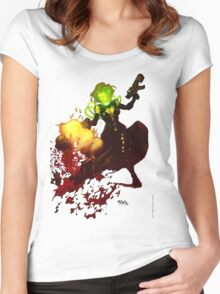 Anne Frankenstein AF2 Women's Fitted Scoop T-Shirt